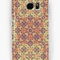 'Vintage Ornate Baroque' Samsung Galaxy Case/Skin by DFLC Prints