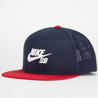 Nike Sb Performance Mens Trucker Hat Dark Blue One Size For Men 23775221301