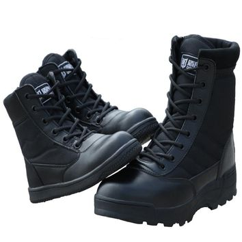 Outdoor Children Tactical Boots Military Army Shoes Black Breathable Shoes Bota Masculina Boy Non-Slip Desert Hiking Boot Girls