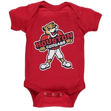 Houston Cougars Infant Big Logo Bodysuit - Red