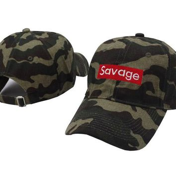 Savage Adjustable Baseball Embroidery Cap