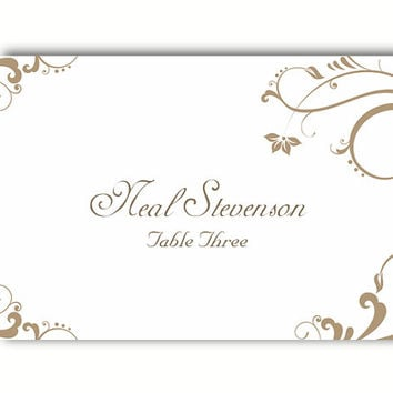 Place Setting Template Make Your Own Leaves Of Thanks Free