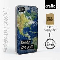 World's Best Dad iPhone Case l Greeting Card l Gift Box