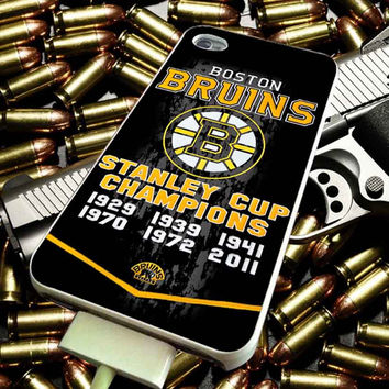 Boston Bruins art for iPhone 4/4s/5/5s/5c/6/6 Plus Case, Samsung Galaxy S3/S4/S5/Note 3/4 Case, iPod 4/5 Case, HtC One M7 M8 and Nexus Case ***