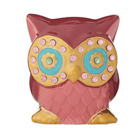 Betsey Johnson Gifting Hostess Owl Eyes Bank