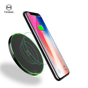 Compatible with iPhone 10W Qi Wireless Charger Mobile Phone Charging Pad Dock