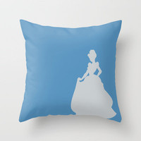 Cinderella Throw Pillow by JessicaSzymanski | Society6