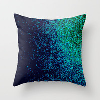 night vision Throw Pillow by Marianna Tankelevich