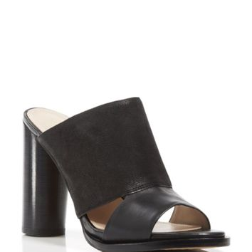 FRENCH CONNECTION Slide Sandals - Ursie High Heel Mule | Bloomingdales's
