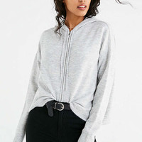UO Boxy Zip-Up Hoodie Sweater | Urban Outfitters
