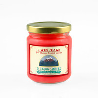 Twin Peaks Inspired Scented Soy Candle