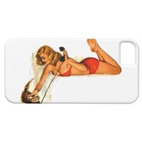 Hello Kitty Pin Up Girl ~ Retro Art Iphone 5 Covers from Zazzle.com