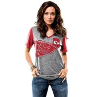 Majestic Kansas City Chiefs Break the Limit Tee - Women's, Size: