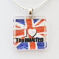 The Wanted British Band -- Max George, Nathan Sykes, Siva Kaneswaran, Jay McGuiness, Tom Parker Glass Tile Pendant Necklace Jewelry Wearable Art:Amazon:Arts, Crafts & Sewing