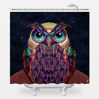 Owl 2 Shower Curtain