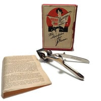 Gens Solingen Hairclipper in Original Box . Hand Hair Clippers . Barber Shop Tools Razor . Hair Trimmer .