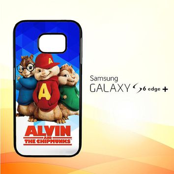Alvin and the Chipmunks R0317 Samsung Galaxy S6 Edge Plus Case
