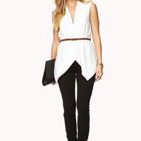 Definitive Draped Vest w/ Belt