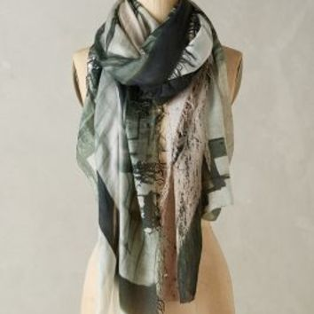 Suzi Roher Operator Scarf in Grey Size: One Size Scarves