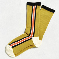 Vertical Stripe Sport Sock | Urban Outfitters