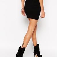ASOS TALL Mini Skirt In Jersey