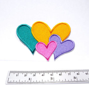 Heart Iron on Patch