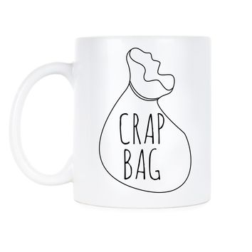 Crap Bag Friends Coffee Mug Crap Bag Mug Princess Consuela Banana Hammock Gift