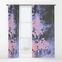 Only for a Moment Window Curtains by duckyb