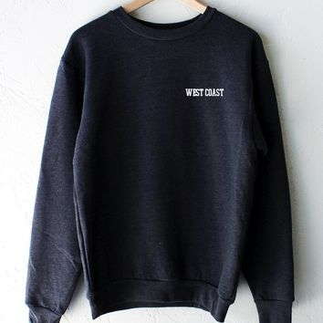 West Coast Oversized Sweatshirt