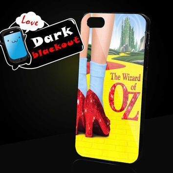 The wizard of OZ Design for iPhone 4, iPhone 4s, iPhone 5, Samsung Galaxy S3, Samsung Galaxy S4 Case
