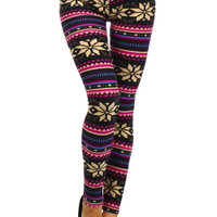 A Bright Christmas Leggings