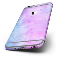 The Washed 4322 Absorbed Watercolor Texture Six-Piece Skin Kit for the iPhone 6/6s or 6/6s Plus