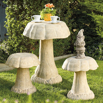 Outdoor Mushroom Table