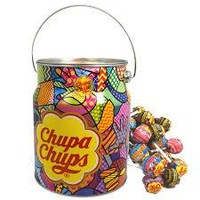 Chupa-Chups Assorted Creamy flavored lollipops (8 pops)