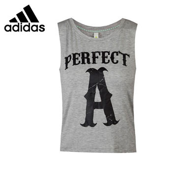 Original  Adidas NEO Label Women's Running Vest T-shirts Sleeveless Sportswear