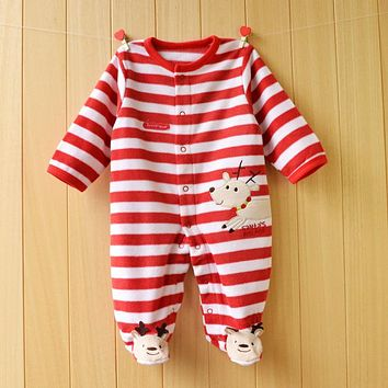 Baby Rompers Spring Baby Girl Clothing Sets Cartoon Baby Boy Clothes 2017 Newborn Baby Clothes Infant Jumpsuits Kids Clothes