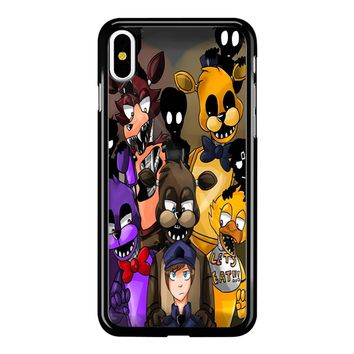 Five Nights At Freddys Fnaf And Friends iPhone X Case