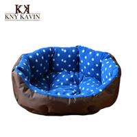 Warm Dog House High Quality PP Cotton Dog Beds Kennel cama para cachorro Pets Cats Beds Warm Cotton Home Free Shipping HP414