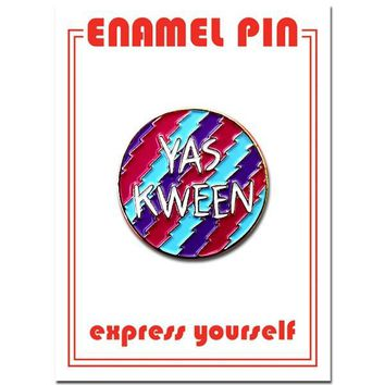 THE FOUND PIN YAS-KWEEN
