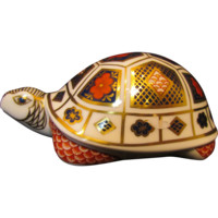 Royal Crown Derby Imari Turtle Paperweight