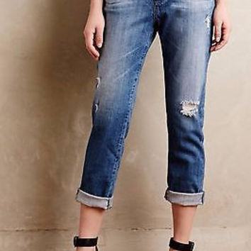 AG Adriano Goldschmied Devon Boyfriend True Boy Fit Jeans Anthropologie NWT
