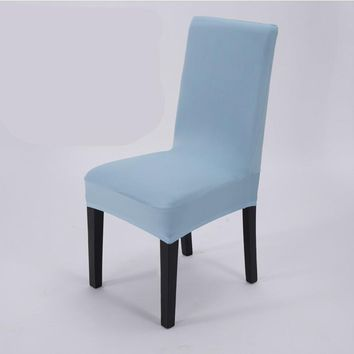 Universal Elastic Cloth Chair Covers China For Weddings Decoration Party Chair Covers Banquet Dining Chair Covers