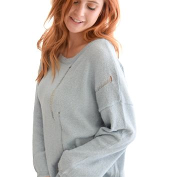 Fall Lovin' Sweater Blue