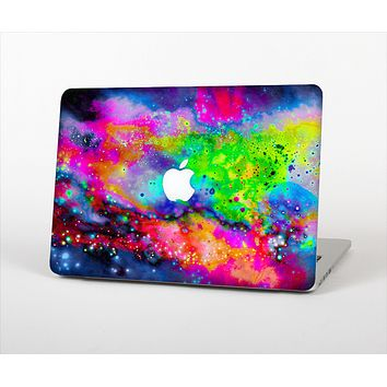 The Neon Splatter Universe Skin Set for the Apple MacBook Air 13""