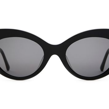Crap Eyewear - Wild Gift Black Sunglasses / Grey Lenses