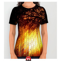 Sunset Silhouettes Beautiful Nature | All Over Print Shirts
