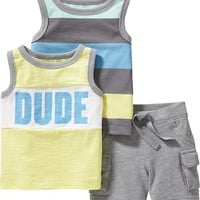 Old Navy Tanks & Shorts 3 Piece Sets For Baby