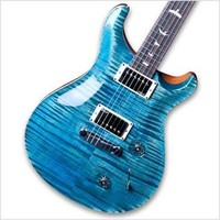 PRS Custom 22 Figured 10 Top Electric Guitar - Aquableux | Hello Music
