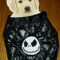 JACK SKELLINGTON Dog or PeT CoAT JaCkeT Embroidered ADoRABLE  Perfect HALLoWEEN Costume for Your 4 Little PaWS!  Designs by Sugarbear