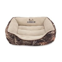 Realtree® Max4 Camo Medium Box Bed with Brown Piping